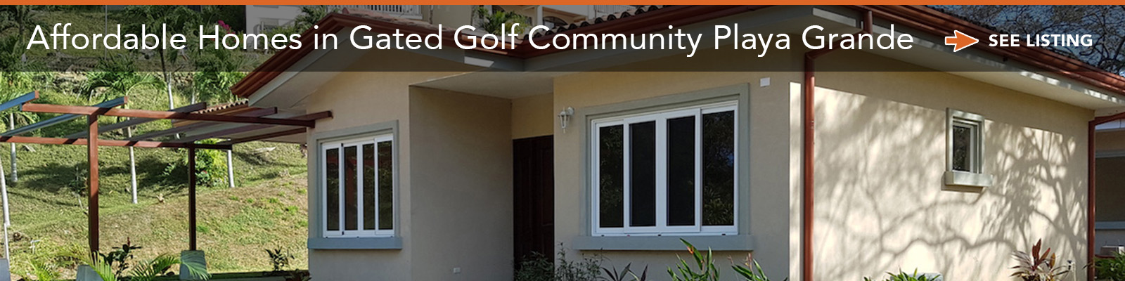 Affordable Homes in Gated Golf Community Playa Grande