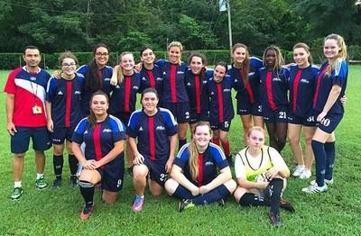 CRIA-Costa Rica International School Women's Soccer Team