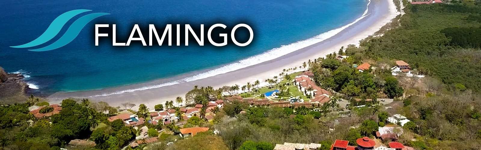 Playa Flamingo on the Gold Coast of Guanacaste in Costa Rica