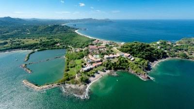 The North Ridge of Flamingo Beach on the Gold Coast of Guanacaste, Costa Rica