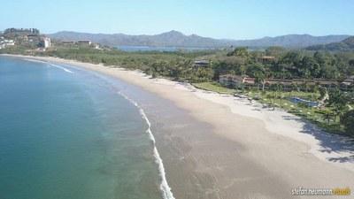 Wide open beaches in Flamingo, Costa Rica