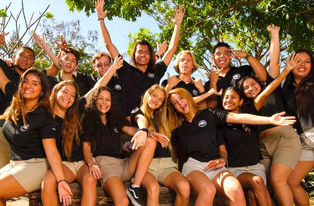 La Paz Community School in Flaminngo Costa Rica Secondary Students