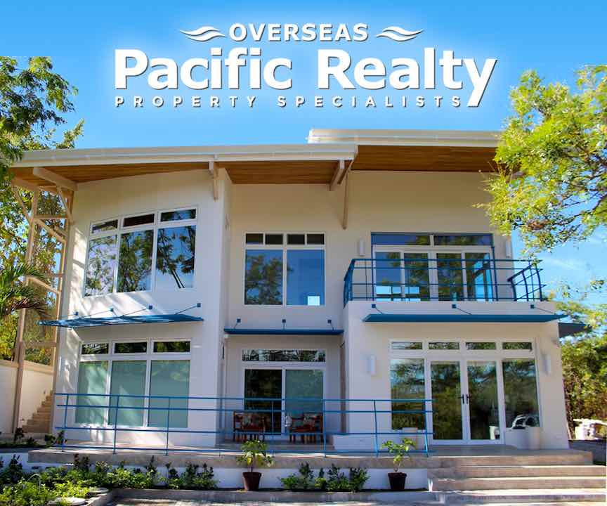 The brand new offices of Overseas Pacific Realty in Flamingo, Costa Rica