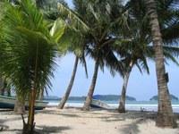 Beach lifestyle in Samara, Costa Rica