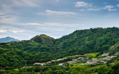 Hillside Arial View